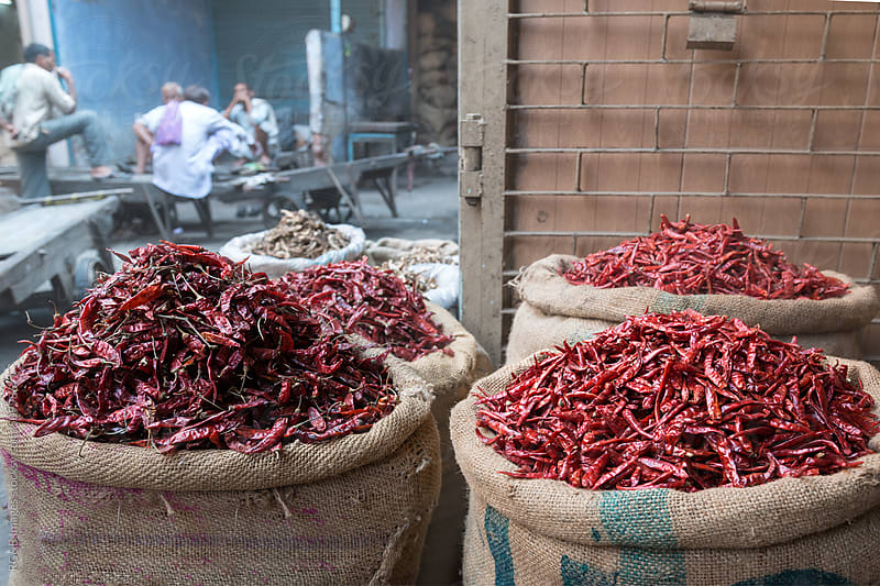 spice market by RG&B Images for Stocksy United