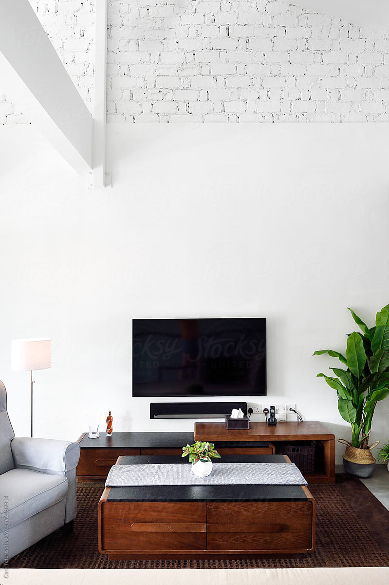 Superieur Living Room With Sleek, Modern Furniture By Carli Teteris For Stocksy United