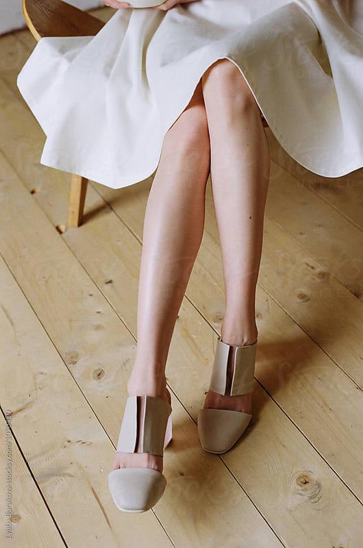 Woman wearing stylish shoes by Lyuba Burakova for Stocksy United