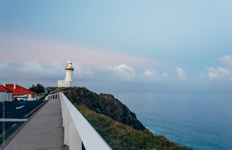 Cape Byron Lighthouse, Byron Bay Australia. by Image Supply Co for Stocksy United