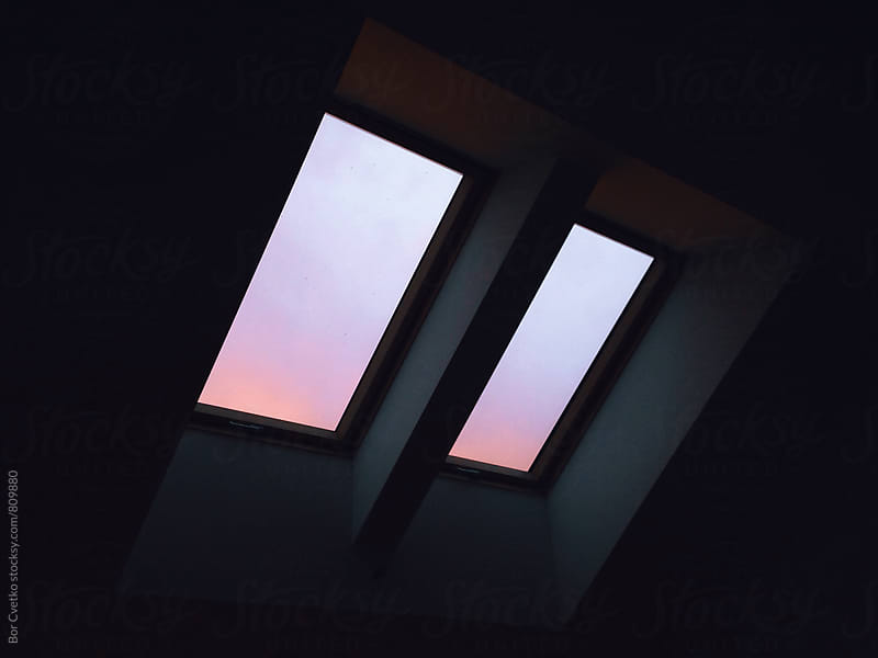 Sunset colours outside by Bor Cvetko for Stocksy United