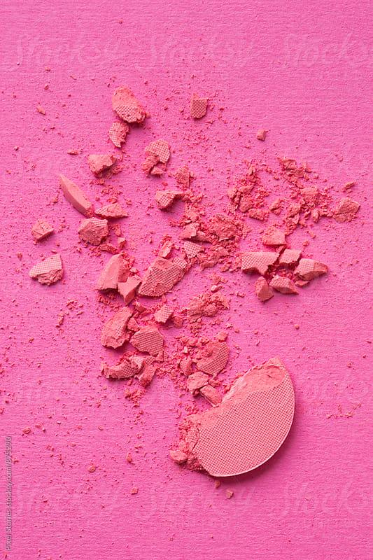 Brolen dark pink eyeshadow by Pixel Stories for Stocksy United