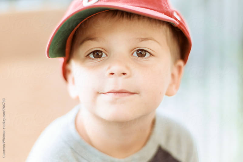 Little man with a great face by Cameron Whitman for Stocksy United