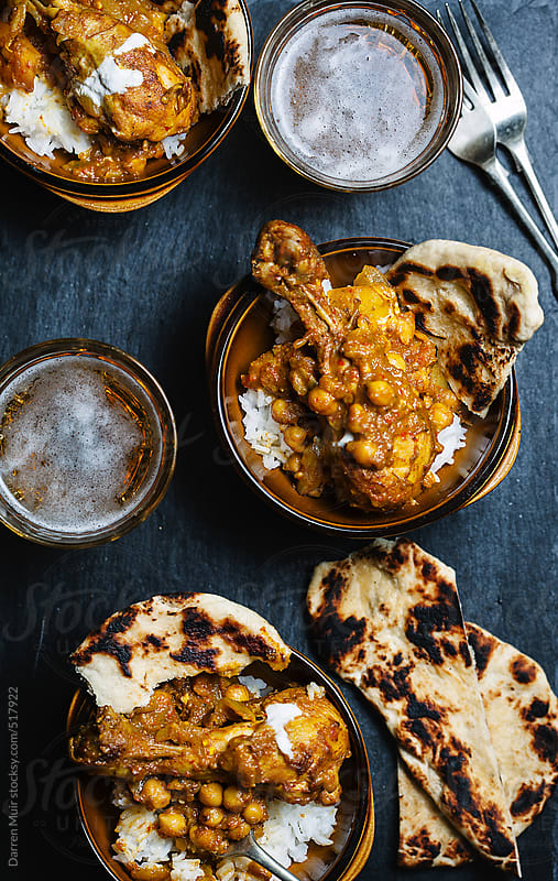 Chicken curry. by Darren Muir for Stocksy United