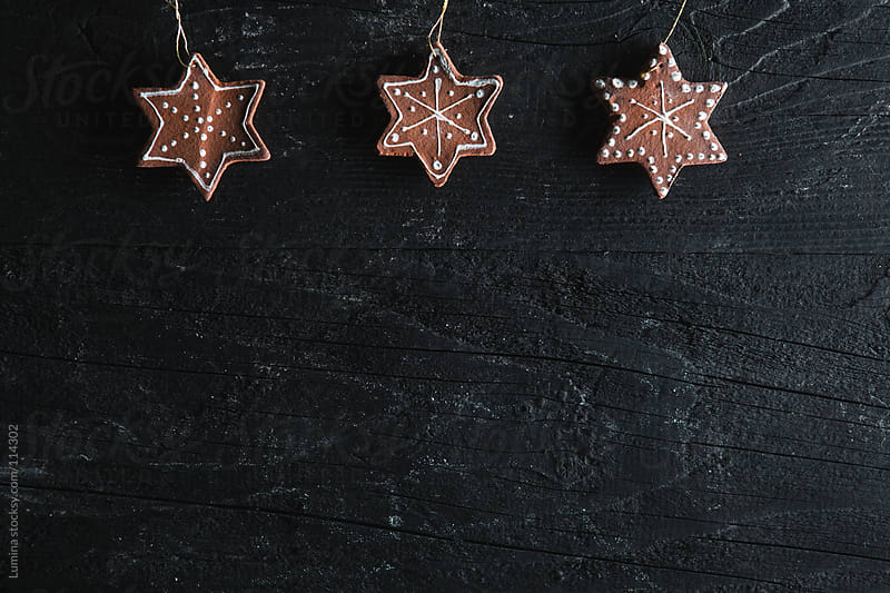 Star-Shaped Christmas Ornaments by Lumina for Stocksy United