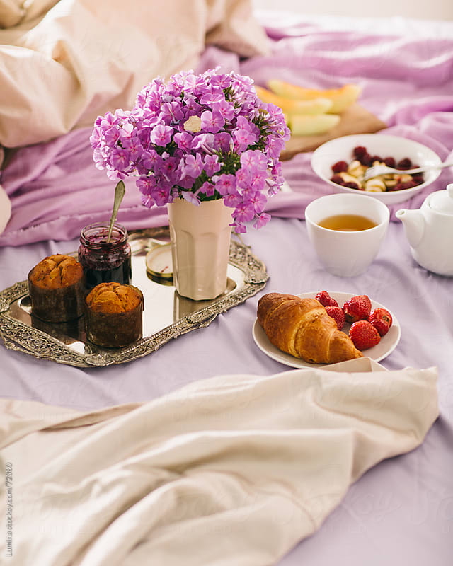 Breakfast in Bed by Lumina for Stocksy United