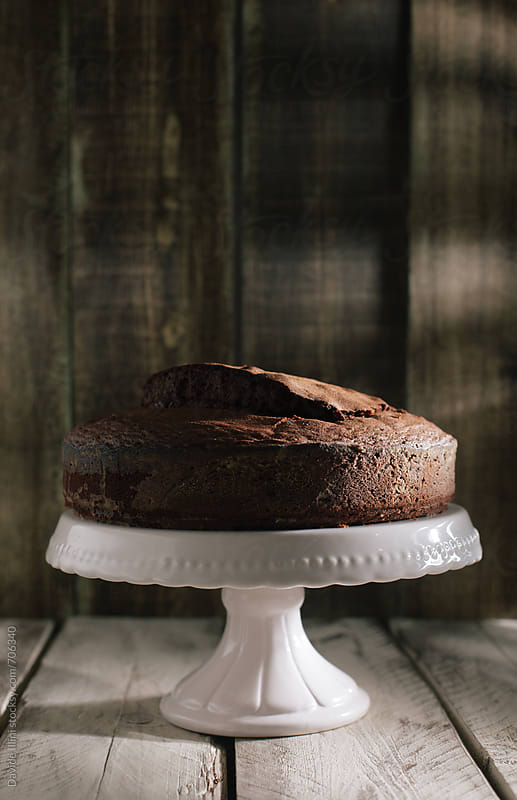 Chocolate Cake by Davide Illini for Stocksy United