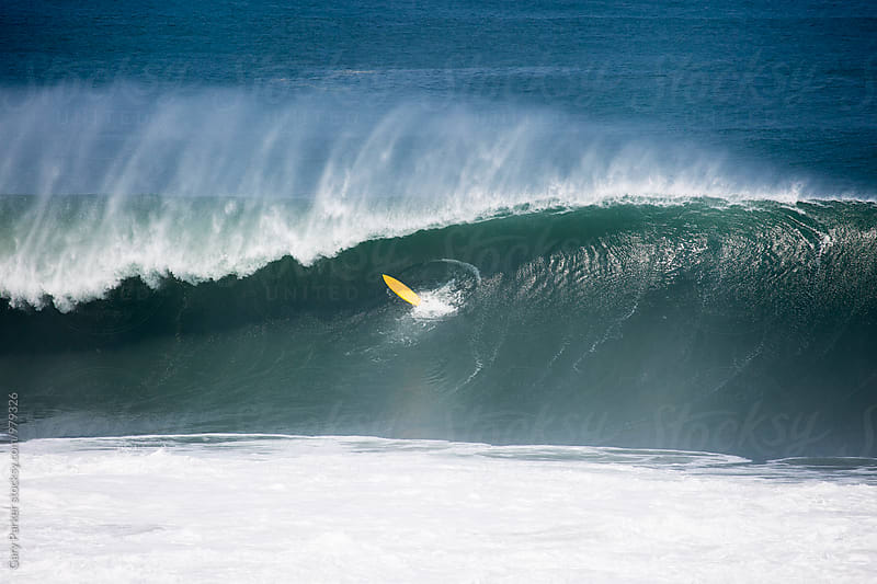 Surfer Wipeout by Gary Parker for Stocksy United