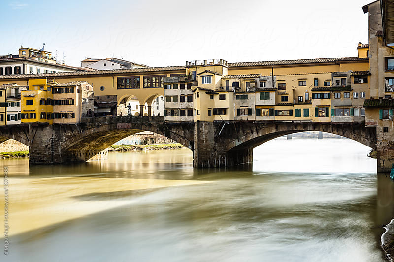 Ponte Vecchio Bridge in Florence, Italy by Giorgio Magini for Stocksy United