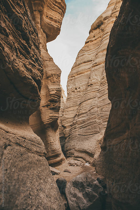 Canyon Rocks by Drew Schrimsher for Stocksy United