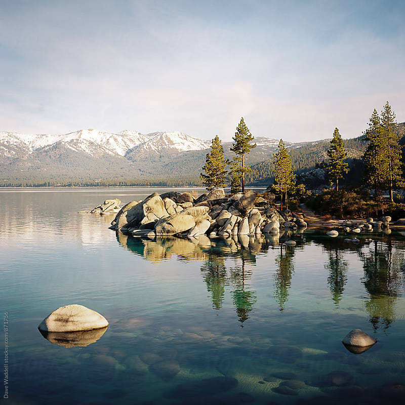 Sand Harbor Lake Tahoe by Dave Waddell for Stocksy United