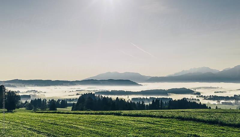 Landscape of Allgäu, Travel Destination in Bavaria, Germany, Europe  by Claudia Lommel for Stocksy United