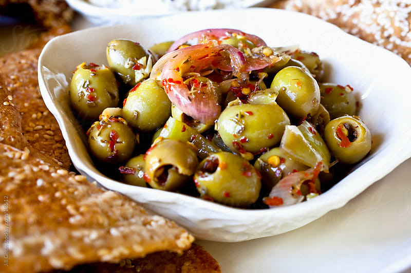Green Olives by Jill Chen for Stocksy United