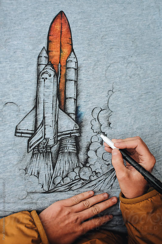 space shuttle by Paul Schlemmer for Stocksy United