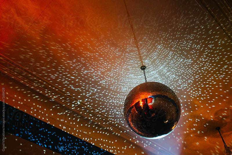 Shiny Disco Ball by Good Vibrations Images for Stocksy United