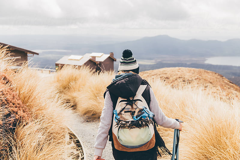 Hiking in the mountains by Andrey Pavlov for Stocksy United