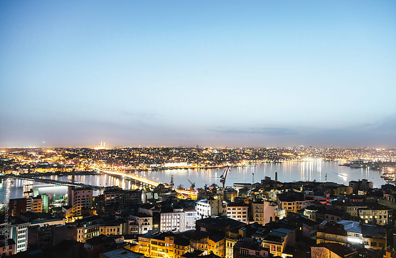 Istanbul Twilight by Agencia for Stocksy United