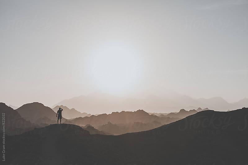 Exploring the desert by Luke Gram for Stocksy United