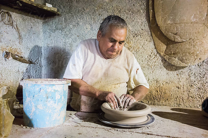 A visit to Jorge, a Mexican potter by Per Swantesson for Stocksy United
