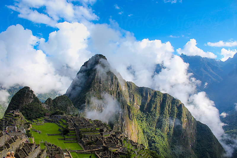 Machu Picchu City by Lucas Brentano for Stocksy United