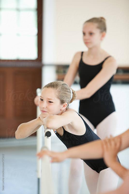 Ballet: Girls Watches Teacher Demonstrating by Sean Locke for Stocksy United