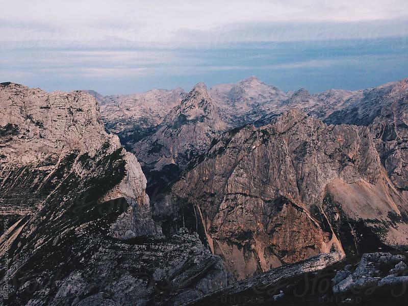 The Alps by Bor Cvetko for Stocksy United