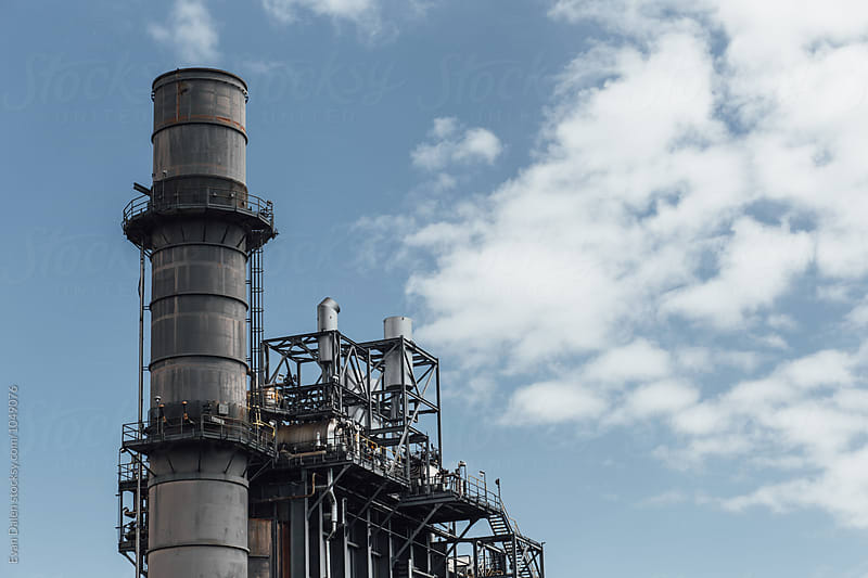 Power Plant Energy Center by Evan Dalen for Stocksy United