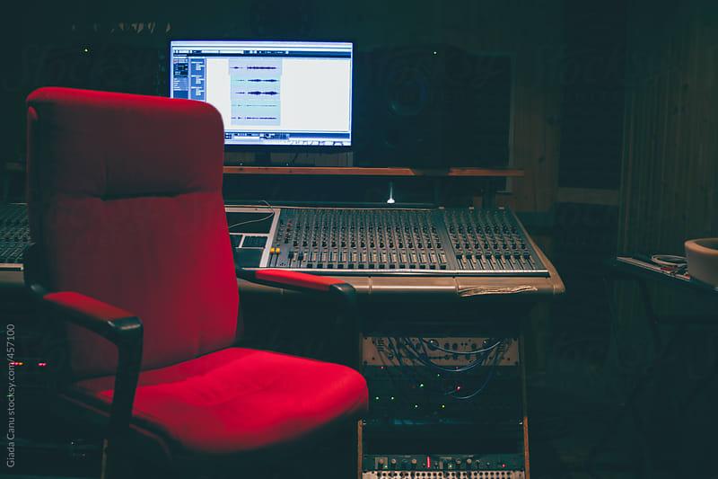 Recording studio by Giada Canu for Stocksy United