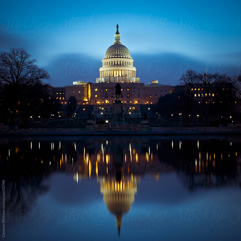 US Capitol Building  by Cameron Whitman for Stocksy United
