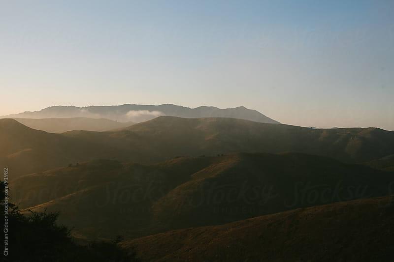Hills at Dusk by Christian Gideon for Stocksy United