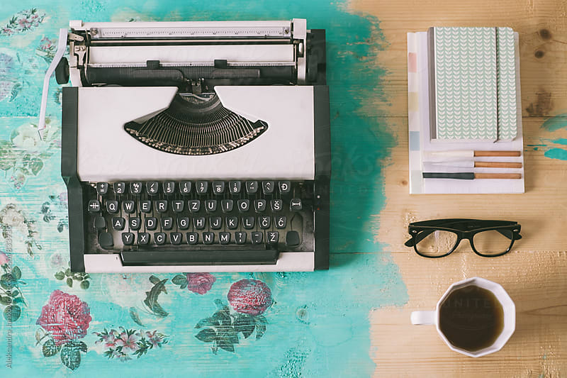 Writer's Desk by Aleksandra Jankovic for Stocksy United