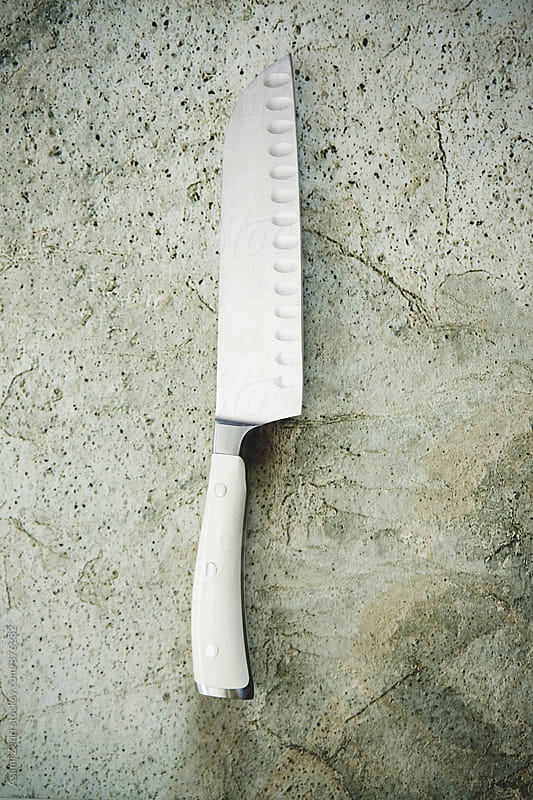Santoku knife by Asami Zenri for Stocksy United