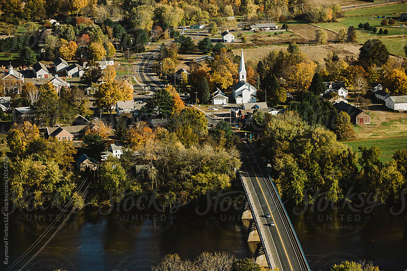 Town in Central Massachusetts by Raymond Forbes LLC for Stocksy United