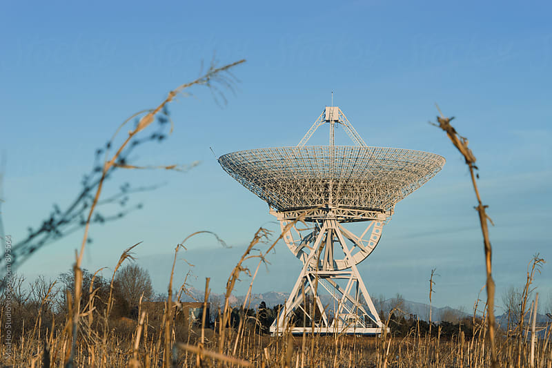 Radio Telescope by Maa Hoo for Stocksy United