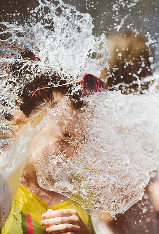 water madness by Alexey Kuzma for Stocksy United