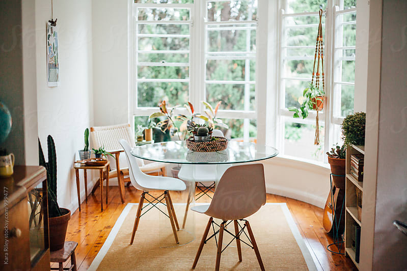 Light & Bright Dining Room by Kara Riley for Stocksy United