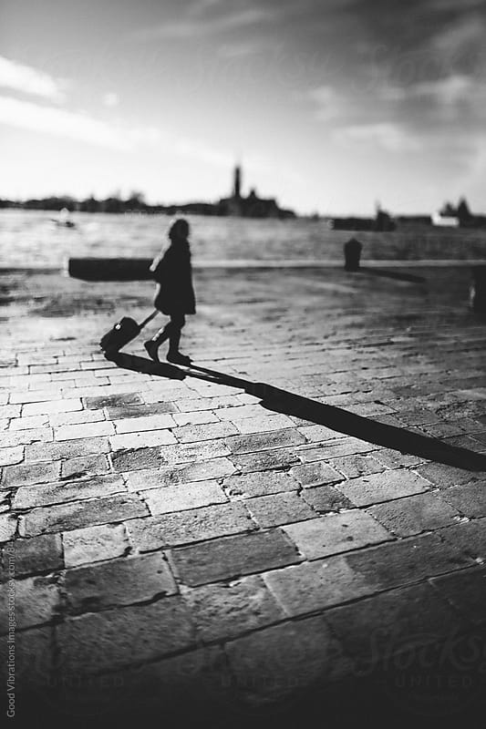 Traveler in Venice by Good Vibrations Images for Stocksy United