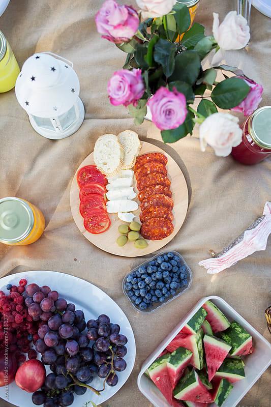 Picnic food by Jovana Rikalo for Stocksy United