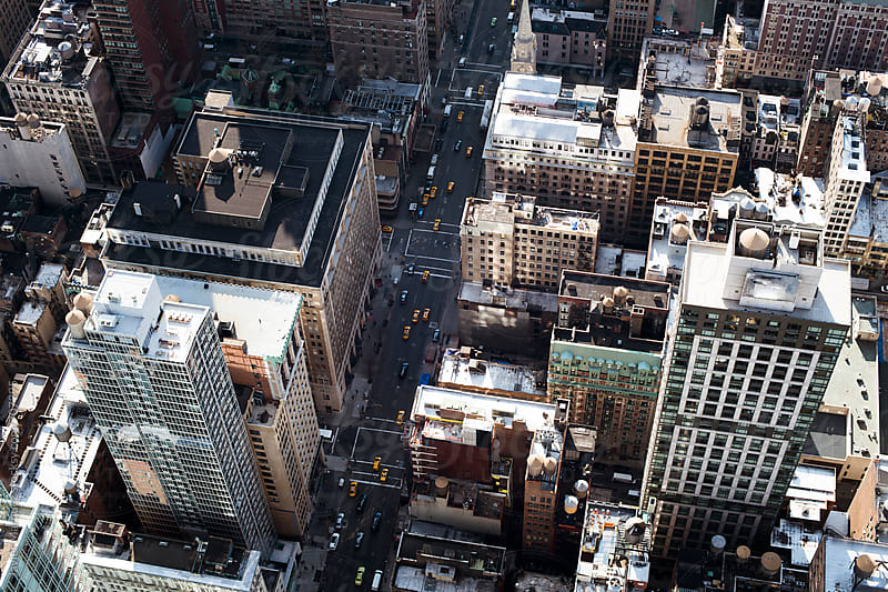 View from the Empire State by Javier Marquez for Stocksy United