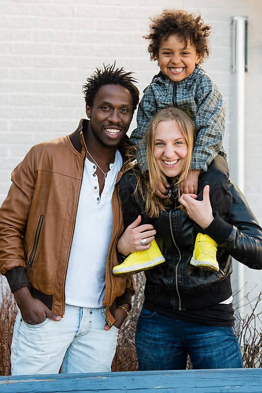 happy family by Andreas Gradin for Stocksy United