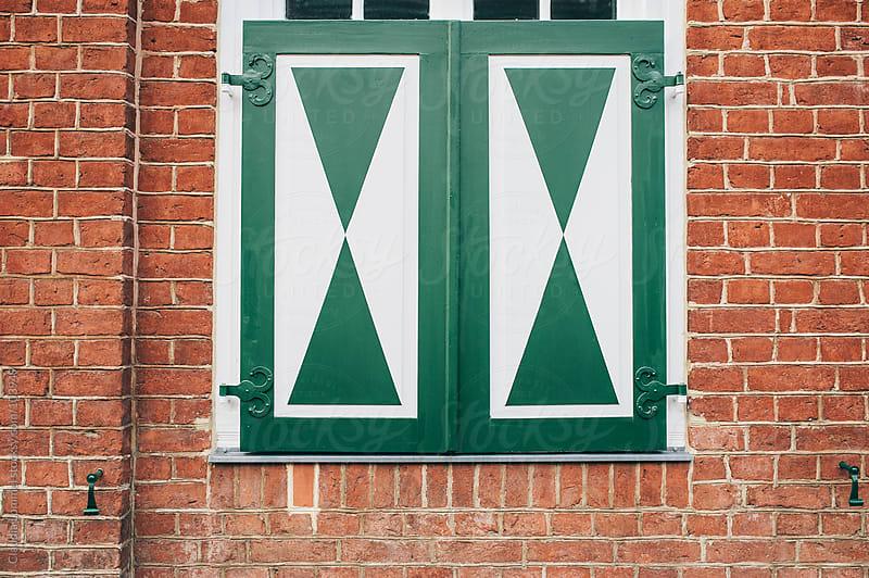 Dutch Window Shutter by Claudia Lommel for Stocksy United
