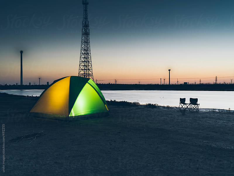 camping night by unite images for Stocksy United