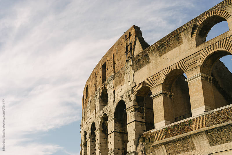 Rome Colosseum by Maa Hoo for Stocksy United