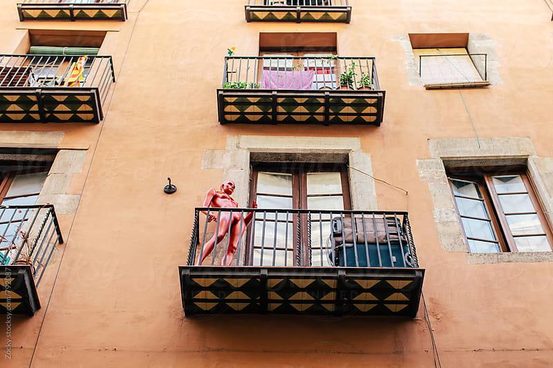 Building in Barcelona by Zocky for Stocksy United