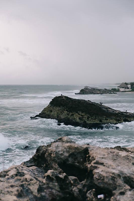 Rocky Beach Scene by Christian Gideon for Stocksy United