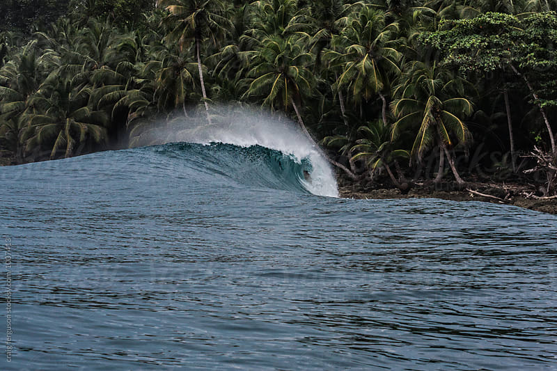 Mentawai Wave by craig ferguson for Stocksy United