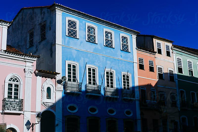 Houses in Salvador De Bahia. Brazil. by Mauro Grigollo for Stocksy United