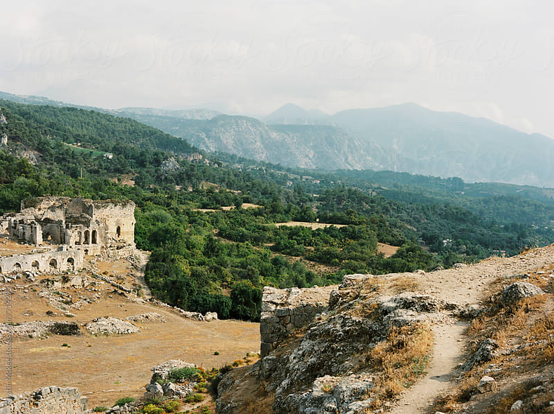 View from Tlos, Turkey by Kirstin Mckee for Stocksy United
