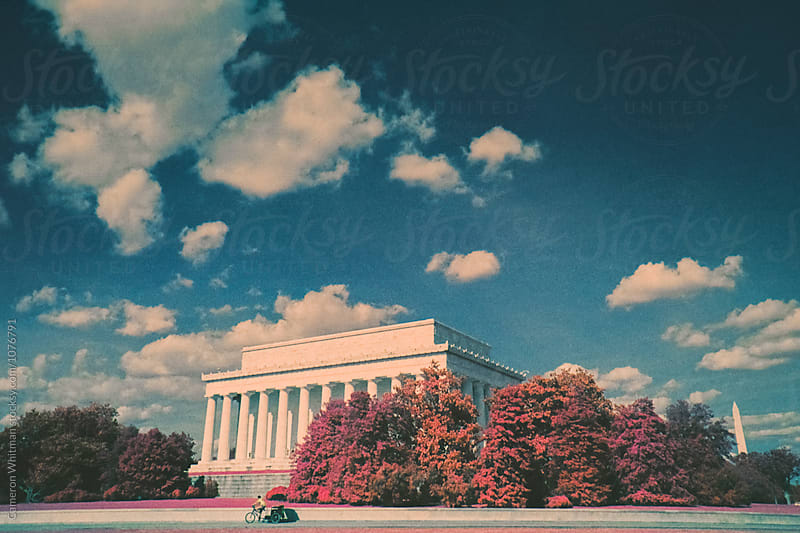 Lincoln Memorial in Infrared by Cameron Whitman for Stocksy United