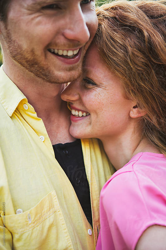 Happy Ginger Couple by Lumina for Stocksy United
